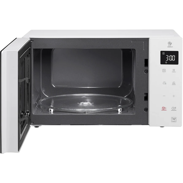 Cuptor cu microunde LG MW25R35GISW, 25 litri, 1000 w, Touch control, easy-clean, Smart Inverter, Alb