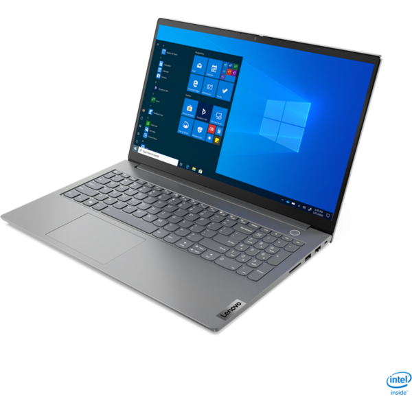 Laptop Lenovo 15.6'' ThinkBook 15 G2 ITL, FHD IPS, Procesor Intel® Core™ i5-1135G7 (8M Cache, up to 4.20 GHz), 16GB DDR4, 512GB SSD, GeForce MX450 2GB, No OS, Mineral Gray