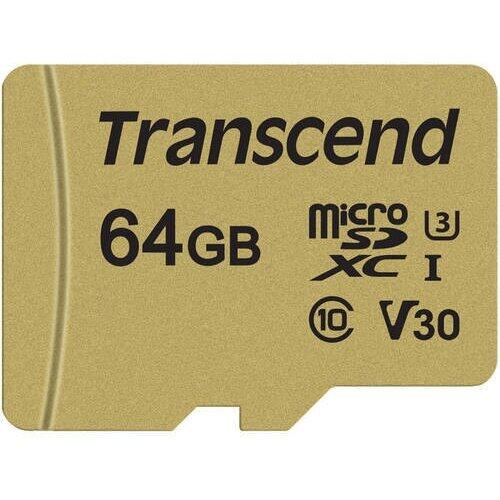 Transcend Card de Memorie microSDHC USD500S 32GB CL10 UHS-I U3 Up to 95MB/S +adapter