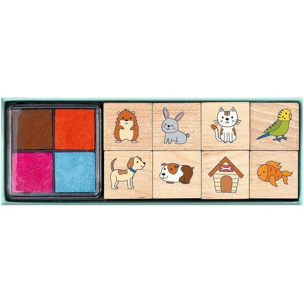 Set Stampile Animale Domestice Moses MS26225