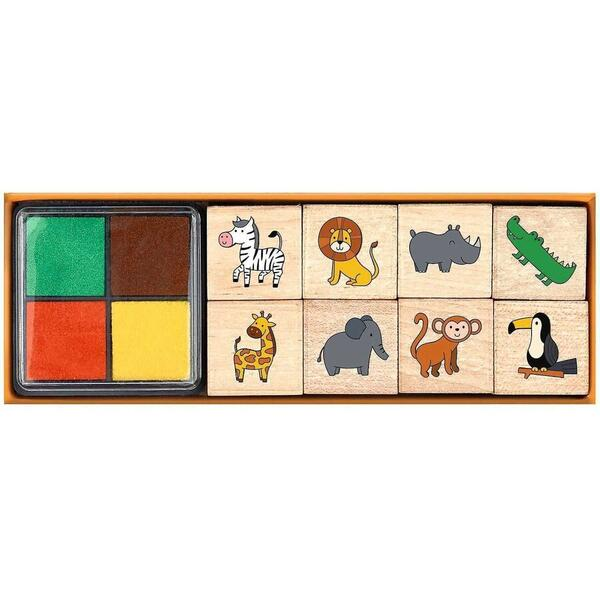 Set Stampile Animale Salbatice Moses MS26226