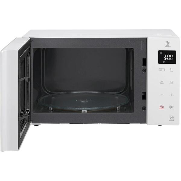 Cuptor cu microunde LG MB63W35GIH, 23 litri, 1000 w, Touch control, Grill, easy-clean, Smart Inverter, Alb