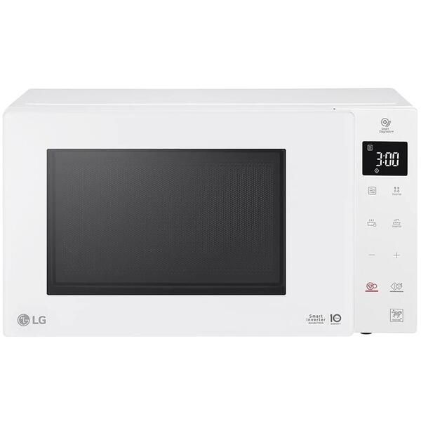 Cuptor cu microunde LG MW23R35GIH, 23 litri, 1000 w, Touch control, easy-clean, Smart Inverter, Alb