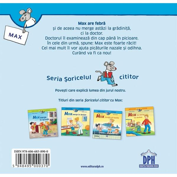 Didactica Publishing House Soricelul cititor - Max merge la doctor