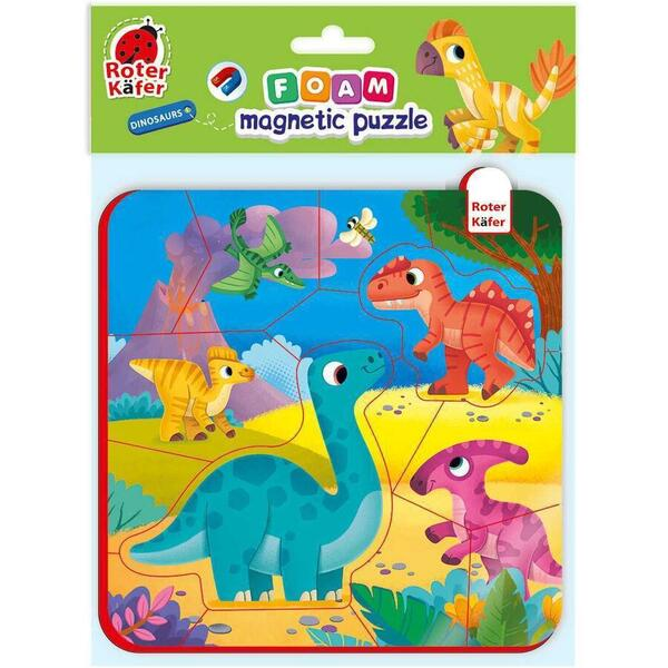 Puzzle magnetic Dino Roter Kafer RK5010-07