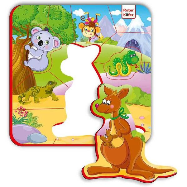 Puzzle magnetic Animale din Australia Roter Kafer RK5010-09