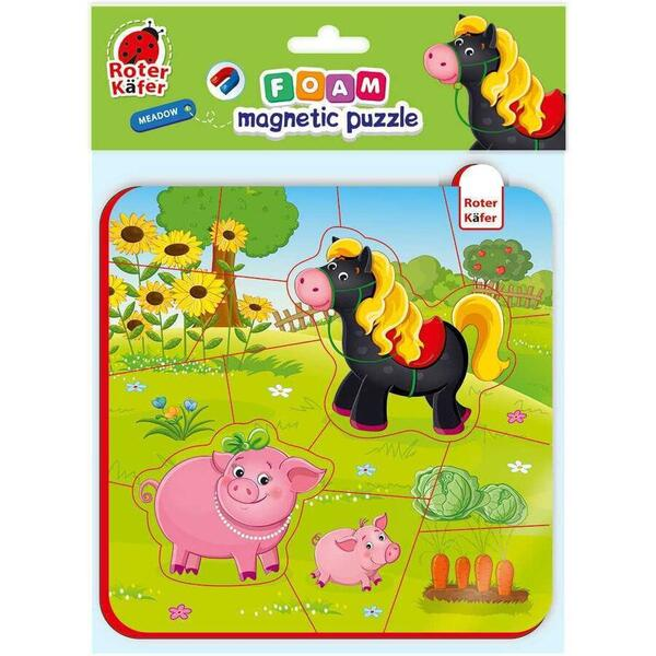 Puzzle magnetic Ferma Calut si Purcelusi Roter Kafer RK5010-08