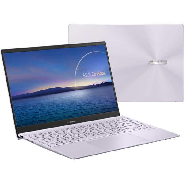 Ultrabook ASUS 13.3'' ZenBook 13 OLED UX325EA, FHD, Procesor Intel® Core™ i7-1165G7 (12M Cache, up to 4.70 GHz, with IPU), 16GB DDR4X, 512GB SSD, Intel Iris Xe, Win 10 Home, Lilac Mist