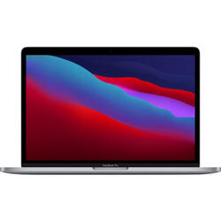 Laptop Apple 13.3'' MacBook Pro 13 Retina with Touch Bar, Apple M1 chip (8-core CPU), 16GB, 256GB SSD, Apple M1 8-core GPU, macOS Big Sur, Space Grey, INT keyboard, Late 2020