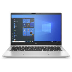 Laptop HP 13.3'' ProBook 430 G8, FHD, Procesor Intel® Core™ i7-1165G7 (12M Cache, up to 4.70 GHz, with IPU), 8GB DDR4, 256GB SSD, Intel Iris Xe, Win 10 Pro, Silver
