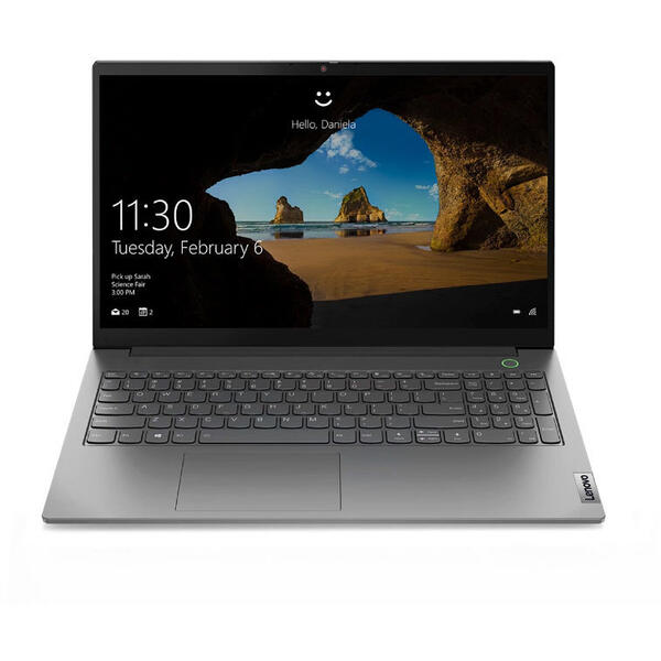 Laptop Lenovo 15.6'' ThinkBook 15 G2 ITL, FHD IPS, Procesor Intel® Core™ i5-1135G7 (8M Cache, up to 4.20 GHz), 8GB DDR4, 512GB SSD, Intel Iris Xe, No OS, Mineral Gray