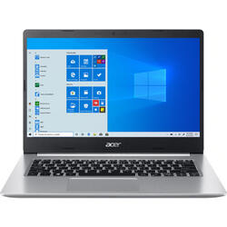 Laptop Acer 14'' Aspire 5 A514-54, FHD, Procesor Intel® Core™ i3-1115G4 (6M Cache, up to 4.10 GHz), 8GB DDR4, 256GB SSD, GMA UHD, Win 10 Pro, Pure Silver