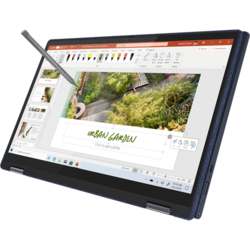 Ultrabook Lenovo 13.3'' Yoga 6 13ARE05, FHD IPS Touch, Procesor AMD Ryzen™ 5 4500U (8M Cache, up to 4.0 GHz), 16GB DDR4, 1TB SSD, Radeon, Win 10 Home, Abyss Blue