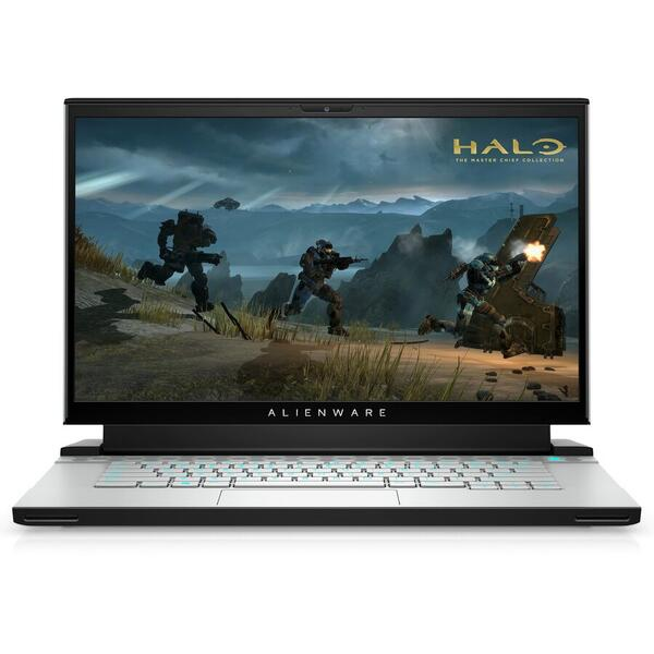 """Laptop Gaming Dell Alienware M15 R4 (Procesor Intel® Core™ i7-10870H (16M Cache, up to 5.00 GHz) 15.6"""" FHD, 32GB, 512GBSSD, nVidia GeForce RTX 3070 @8GB, Win10 Pro, Argintiu)"""