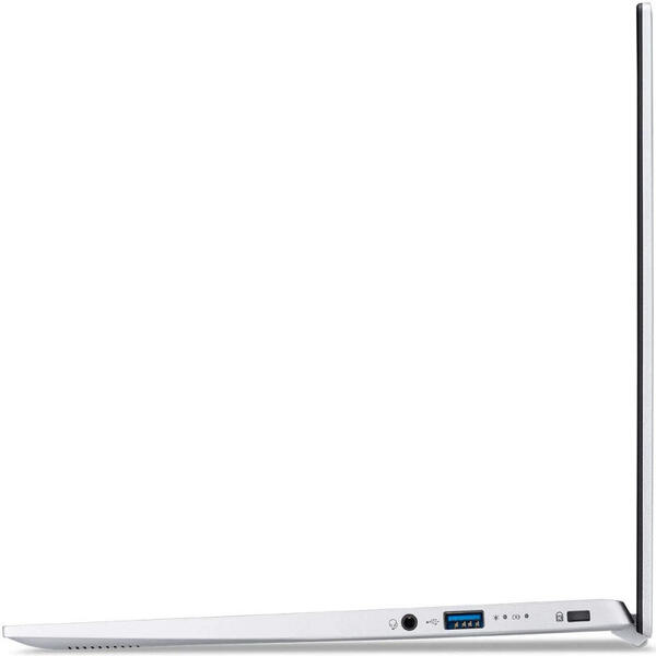Ultrabook Acer 14'' Swift 1 SF114-33, FHD IPS, Procesor Intel® Celeron® N4120 (4M Cache, up to 2.60 GHz), 4GB DDR4, 256GB SSD, GMA UHD 600, Win 10 Home, Pure Silver