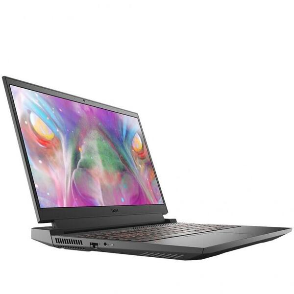 """Laptop Dell Inspiron G15 5510 (Procesor Intel® Core™ i7-10870H (16M Cache, up to 5.00 GHz) 15.6"""" FHD 165Hz, 16GB, 512GB SSD, nVidia GeForce RTX 3060 @6GB, Win 10 Home, Gri)"""
