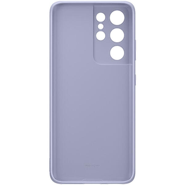 Capac protectie spate Silicone Cover - Violet Samsung Galaxy S21 Ultra (G998)