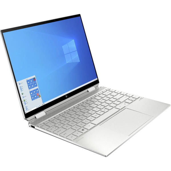 Ultrabook HP 13.5'' Spectre x360 , 2K OLED Touch, Procesor Intel® Core™ i7-1165G7 (12M Cache, up to 4.70 GHz, with IPU), 16GB DDR4, 2TB SSD, Intel Iris Xe, Win 10 Home, Silver